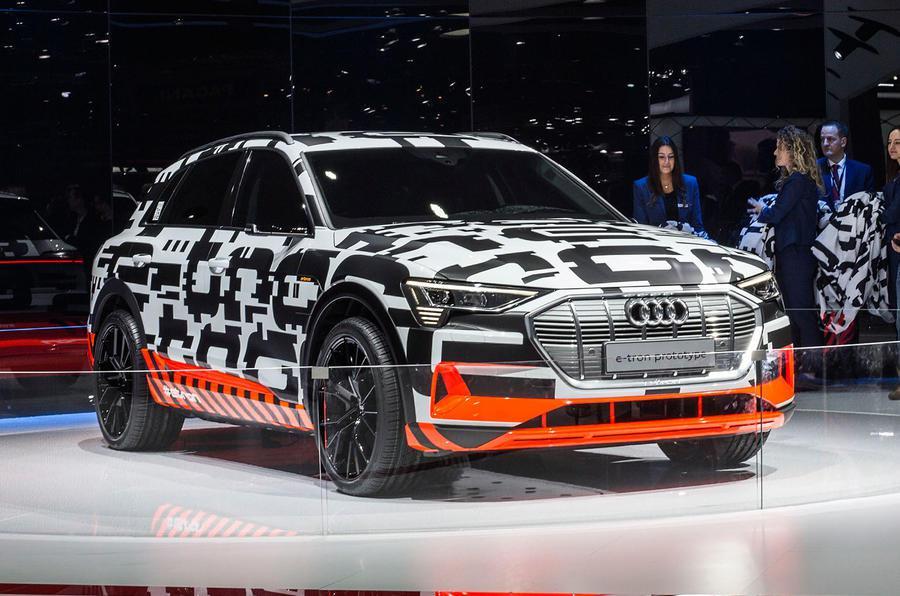 Audi e-tron elektromos autozas
