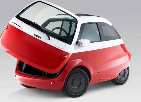 microlino e-mobility elektromos auto