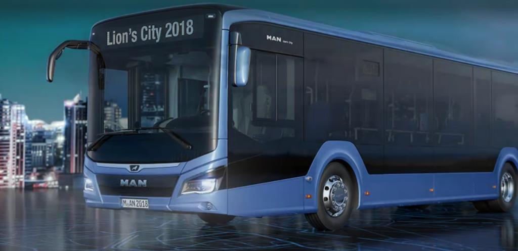 Lion's City 12E elektromos busz bus e-mobility