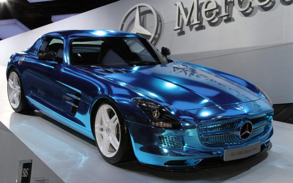 Elektromos luxus Mercedes