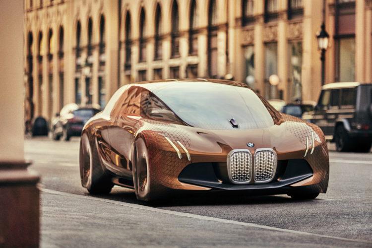 BMW iNext elekromos sportauto