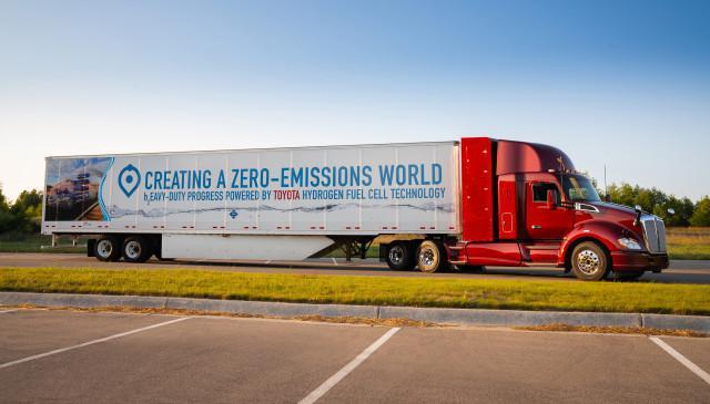 Toyota kamion e-mobility hidrogen elektromos autozas