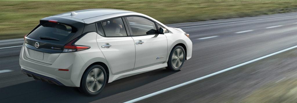 2018 Nissan Leaf elektromos autó