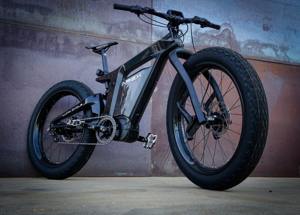 Luna electric bicycle e-mobility
