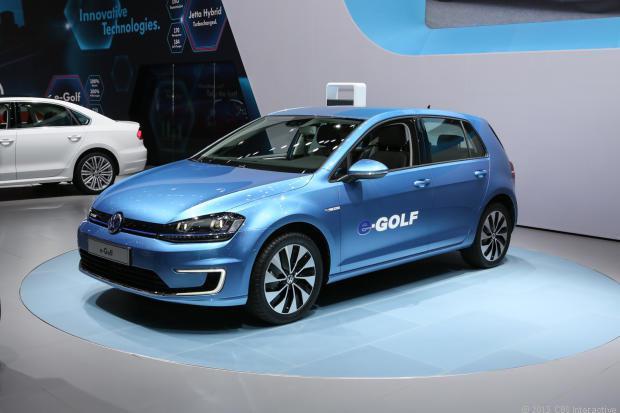 Volkswagen e-Golf elektromos autozas