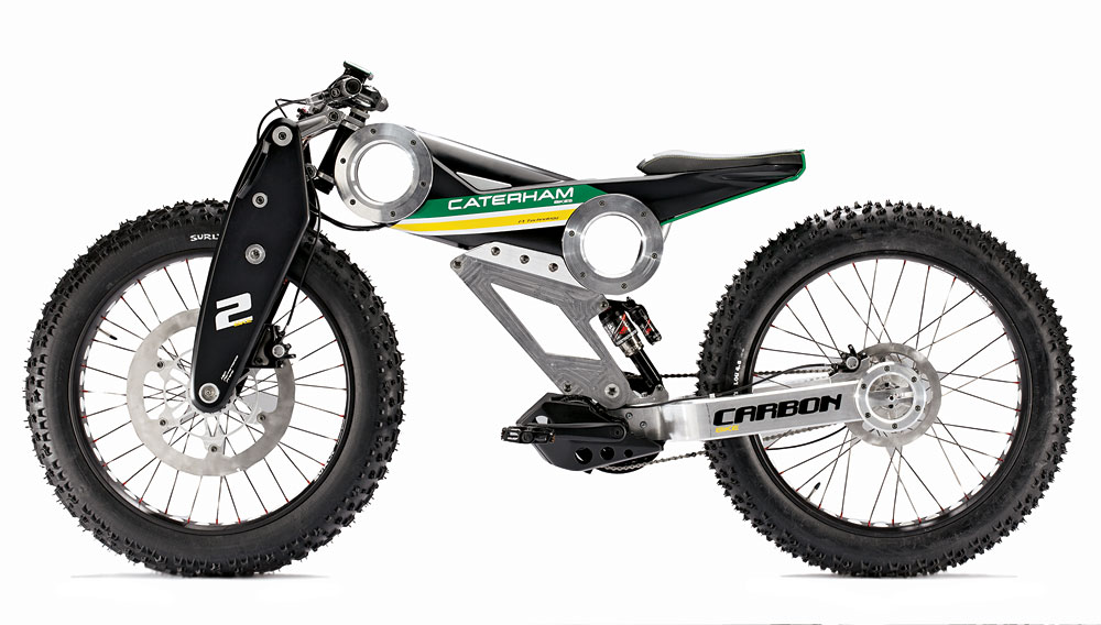 Caterham electric bicylce e-mobility
