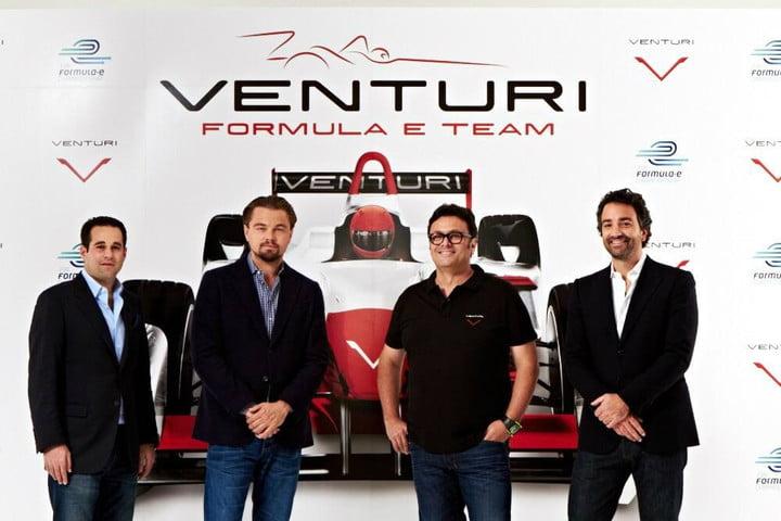 Leonardo DiCaprio Formula E Venturi e-mobility elektromos auto