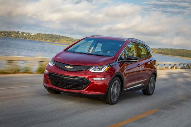 2019 Chevrolet Bolt elektromos autó
