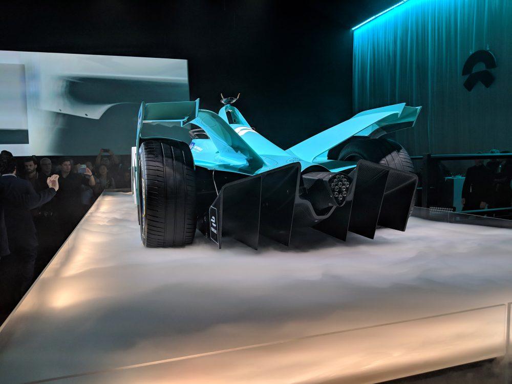 Nio új Formula-E autója