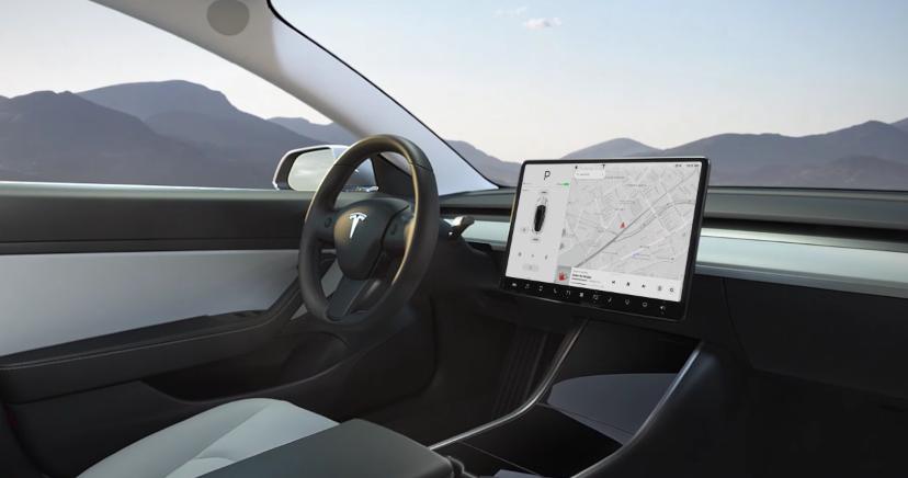 Tesla Model 3 autóeladás