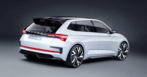 Škoda Vision RS elektromos e-mobility