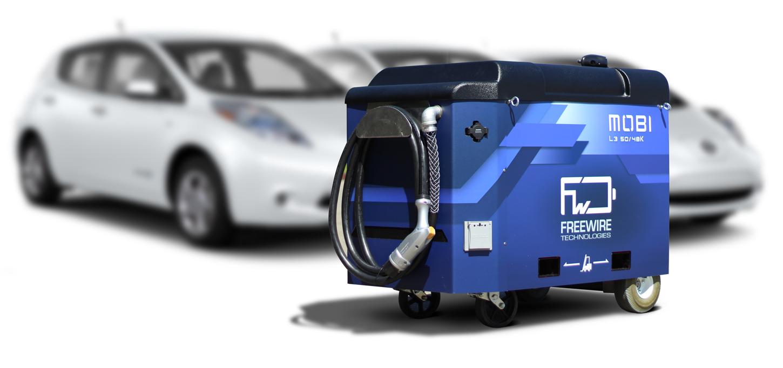 A Volvo a Freewire Technologies mobiltöltőbe fektet