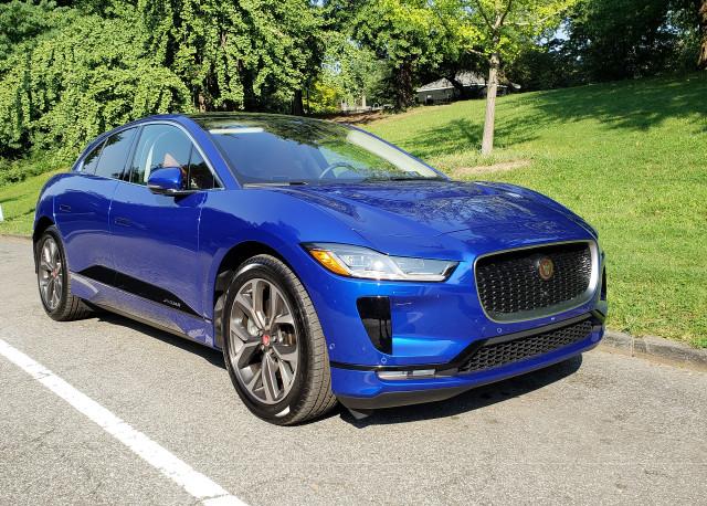 Jaguar I-Pace elektromos autó
