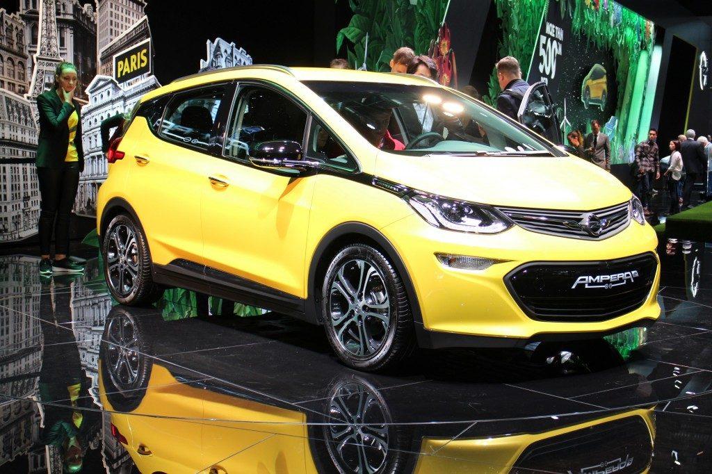 Opel Ampera elektromos autó