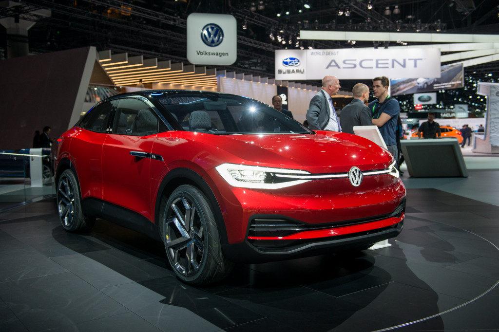 Volkswagen ID Crozz elektromos autó