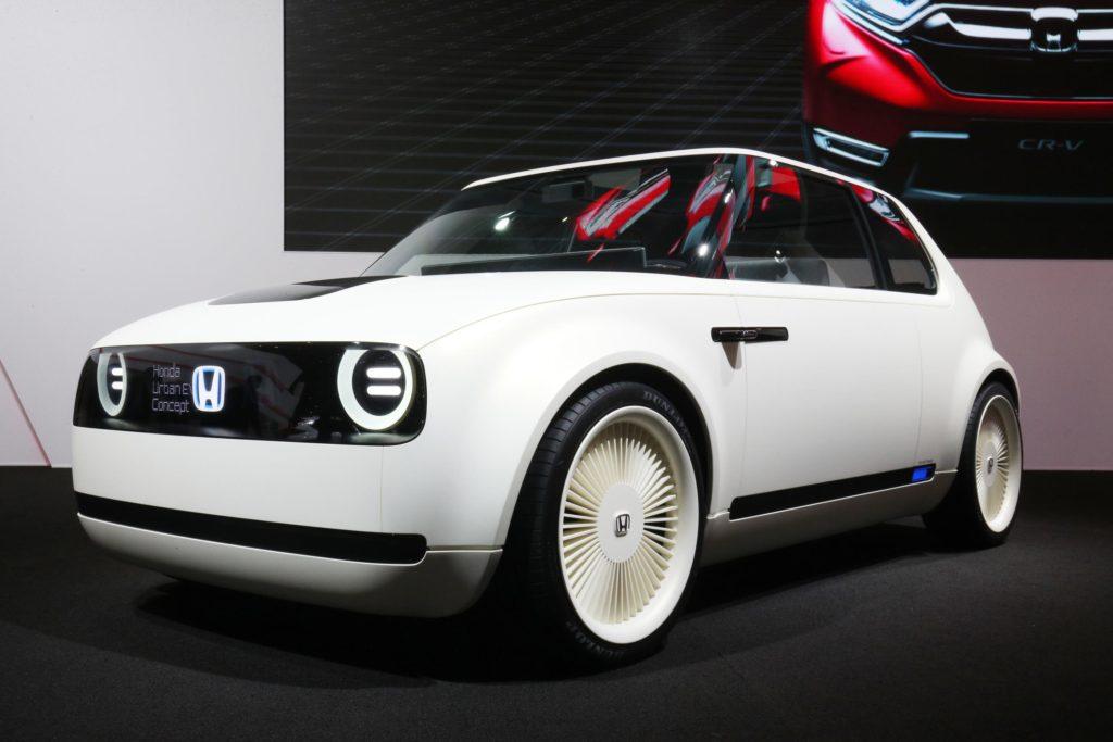 tisztán elektromos Honda Urban-EV