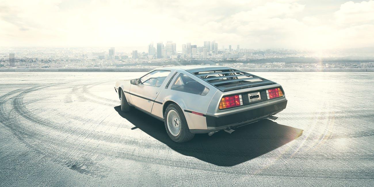 Vissza a jövőbe! – az elektromos DeLorean