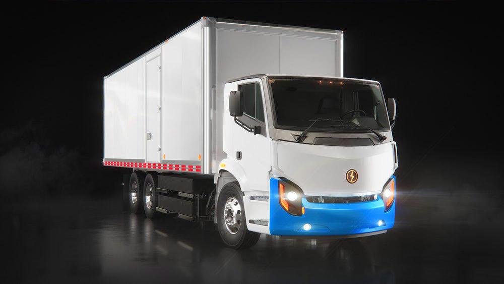 elektromos kamion