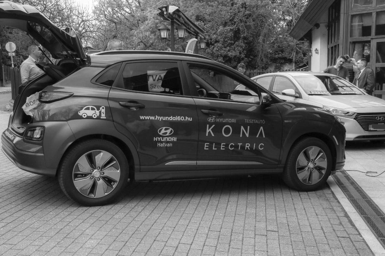 Hyundai Kona electric, a jövő egy autóba öltve