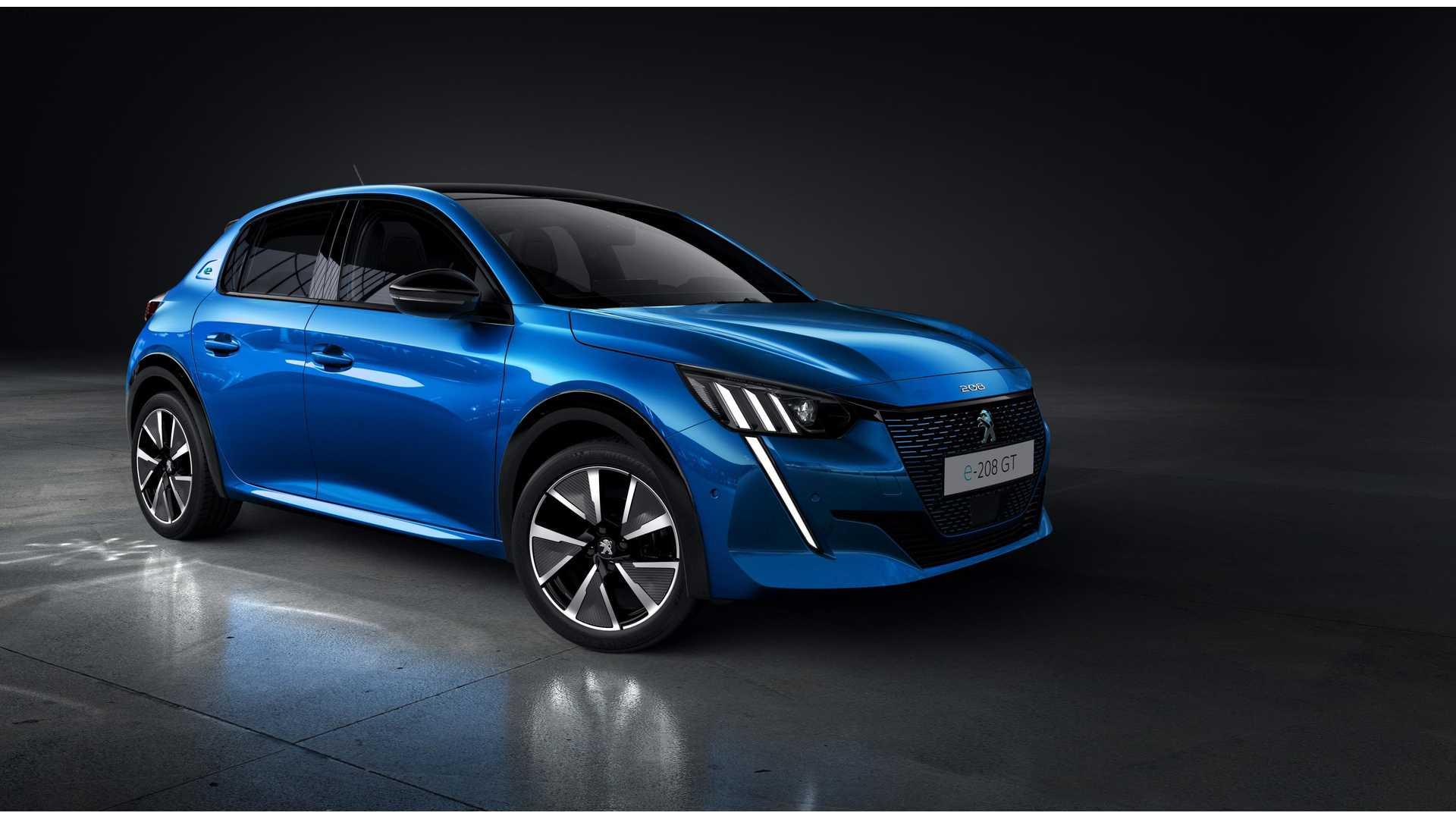Érkezik az elektromos Peugeot 208