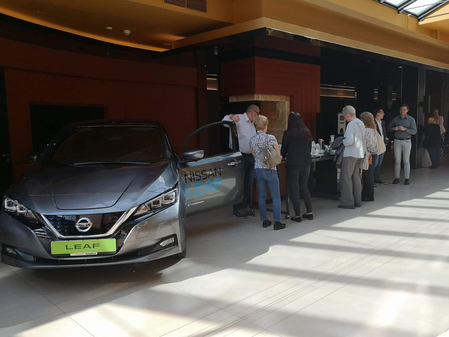 Elektromos Autózás Roadshow: Nissan