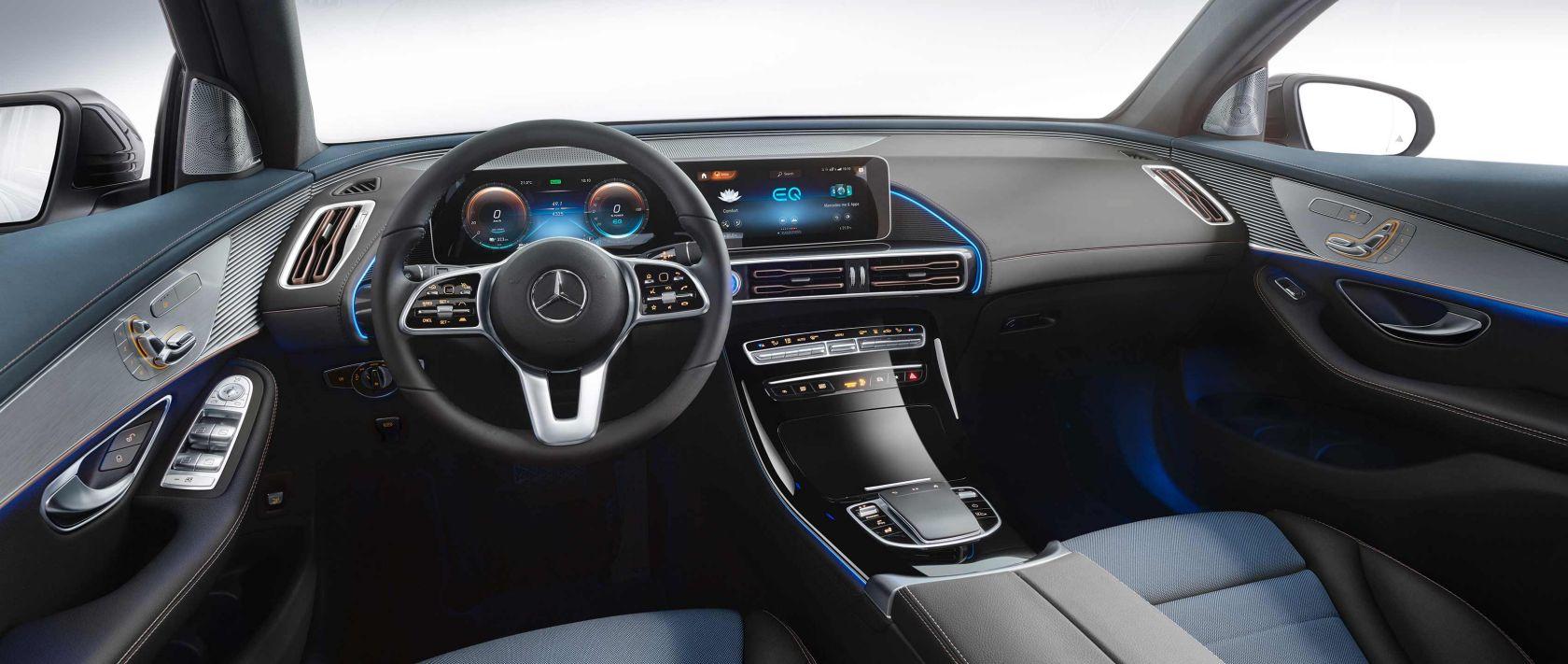 Itt az új Mercedes EQC