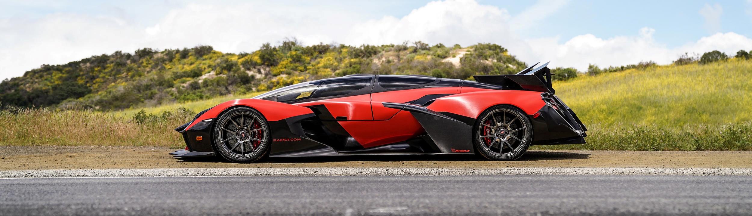 1250 lóerős elektromos autó