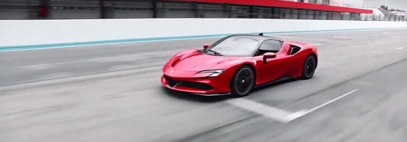 Lássuk az elektromos Ferrari-t
