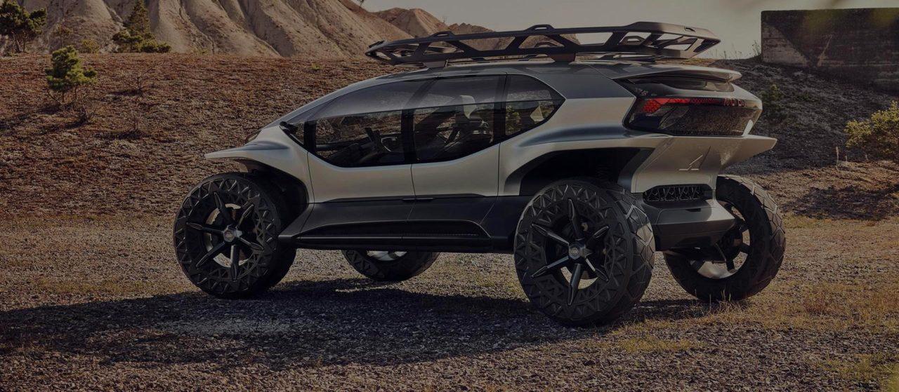 Jövőbeli terepjáró az Audi-tól