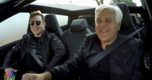 Elon Musk és Jay Leno