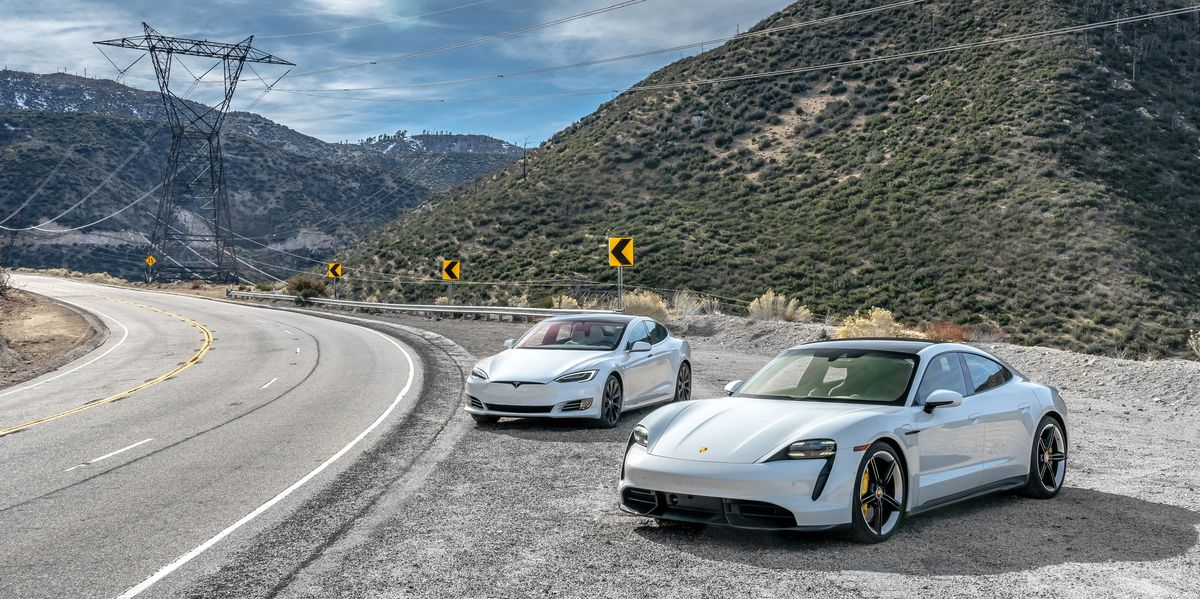 Frissítés háborúban a Tesla és a Taycan