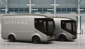 Arrival szállító busz