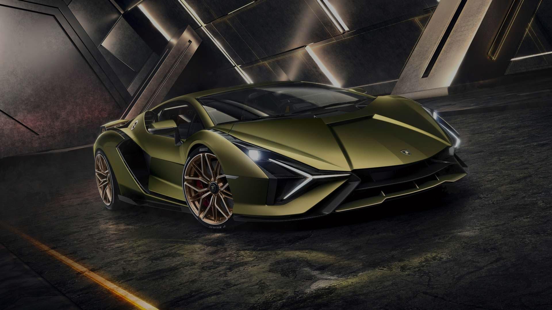 Az első és egyben legerősebb Hibrid Lamborghini