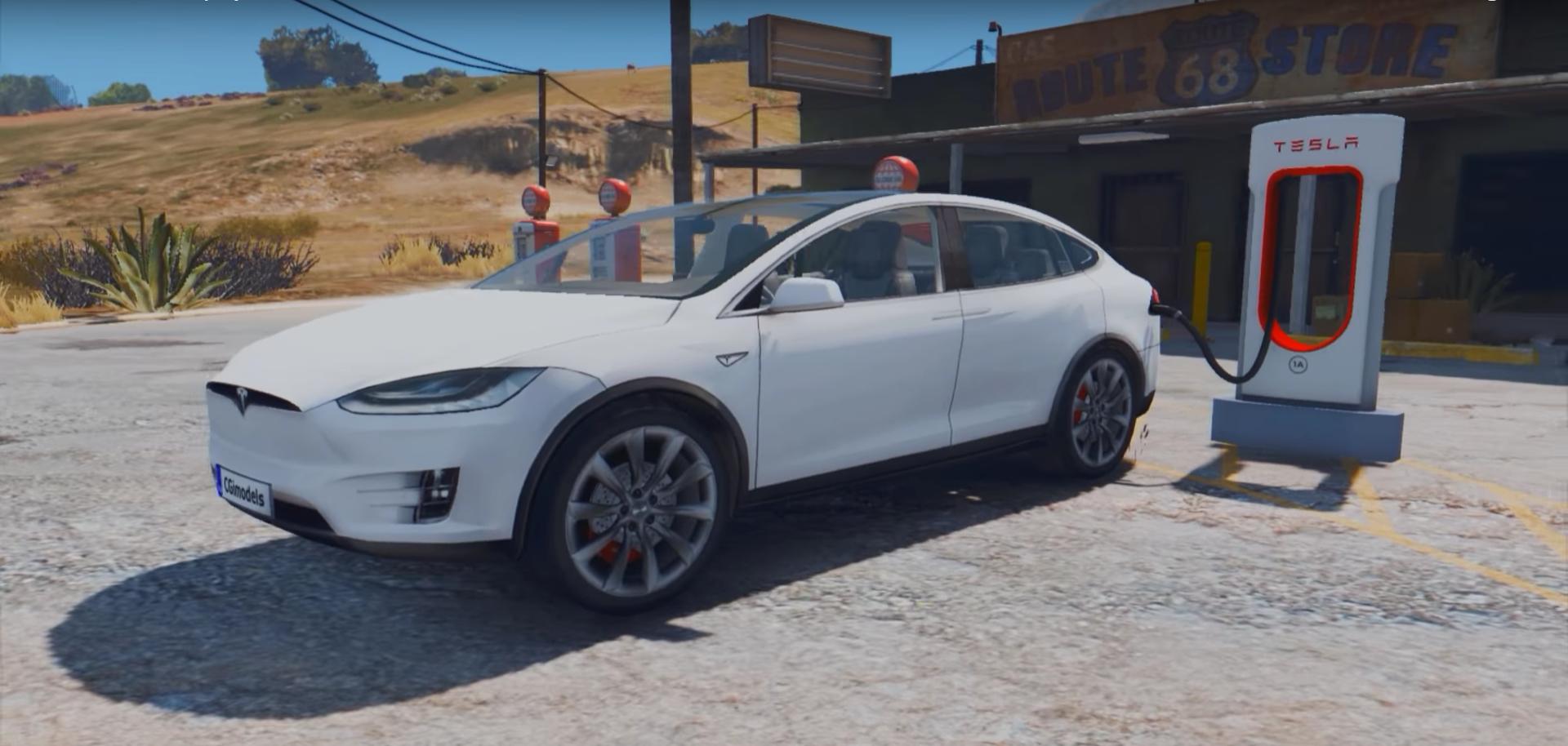 Tesla-val játék az élet