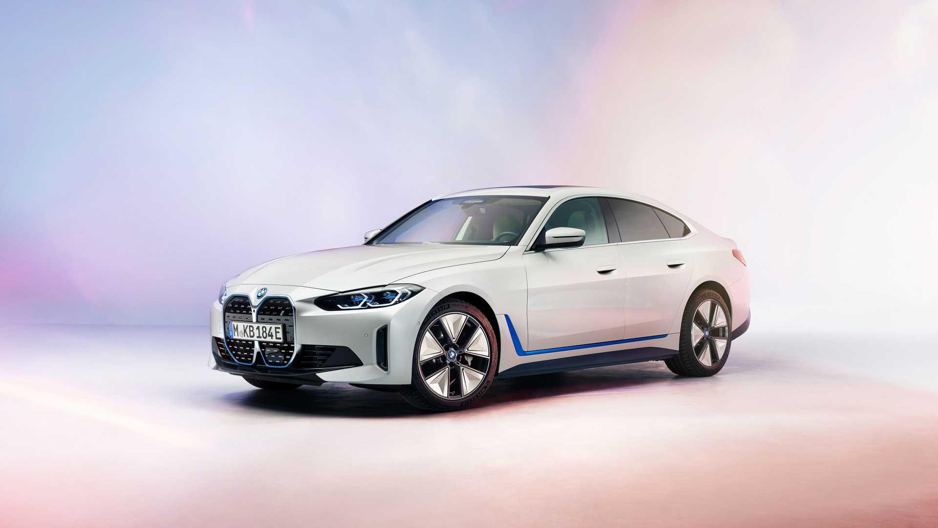 Megmutatta magát a BMW i4