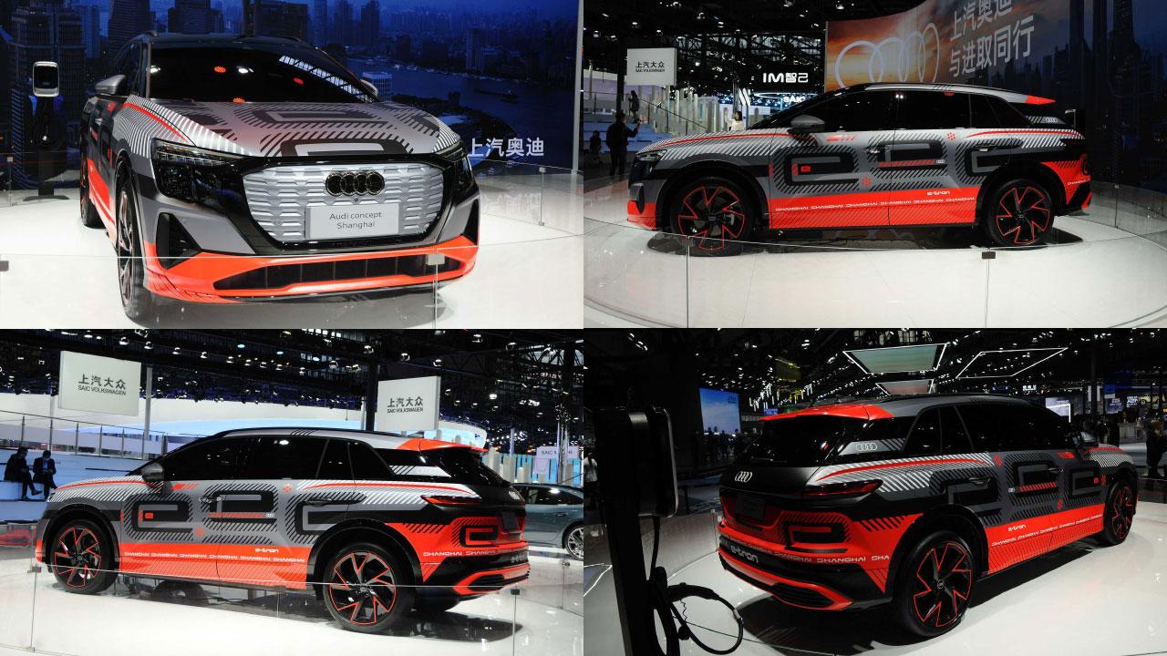 Audi e-tron Shanghai